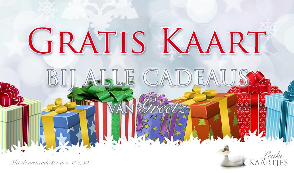 Gratis Kaart bij je (Kerst)cadeau