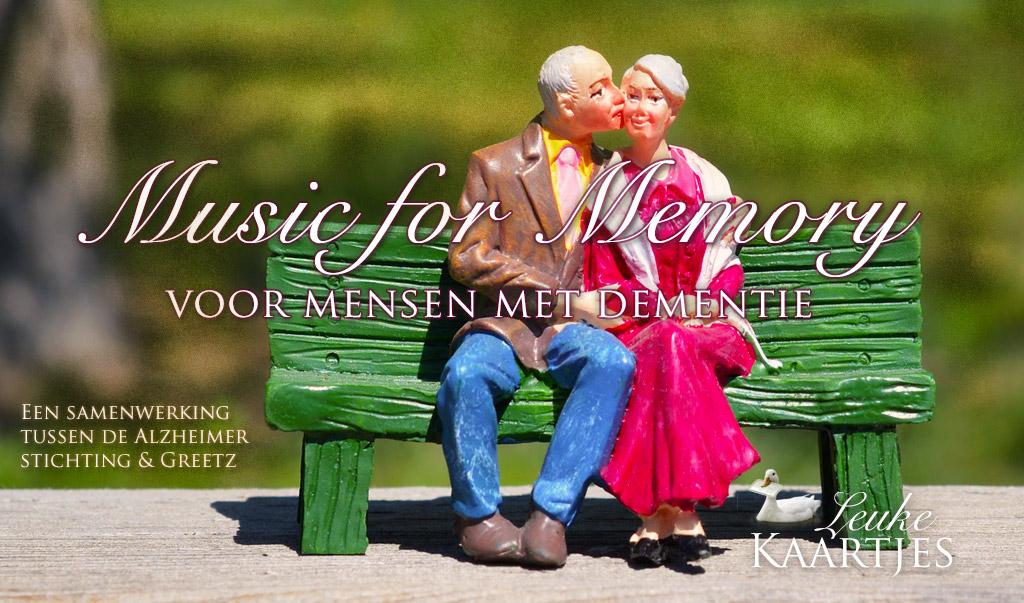 Music for Memory - Muziekkaarten voor mensen met dementie
