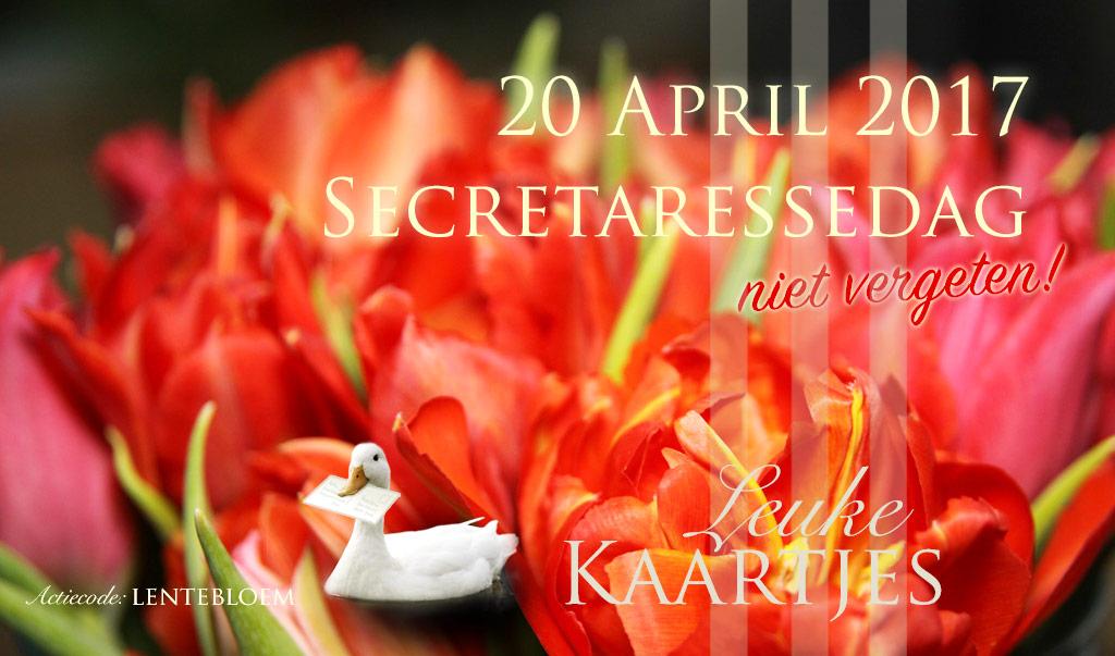 Secretaressedag - 20 april 2017