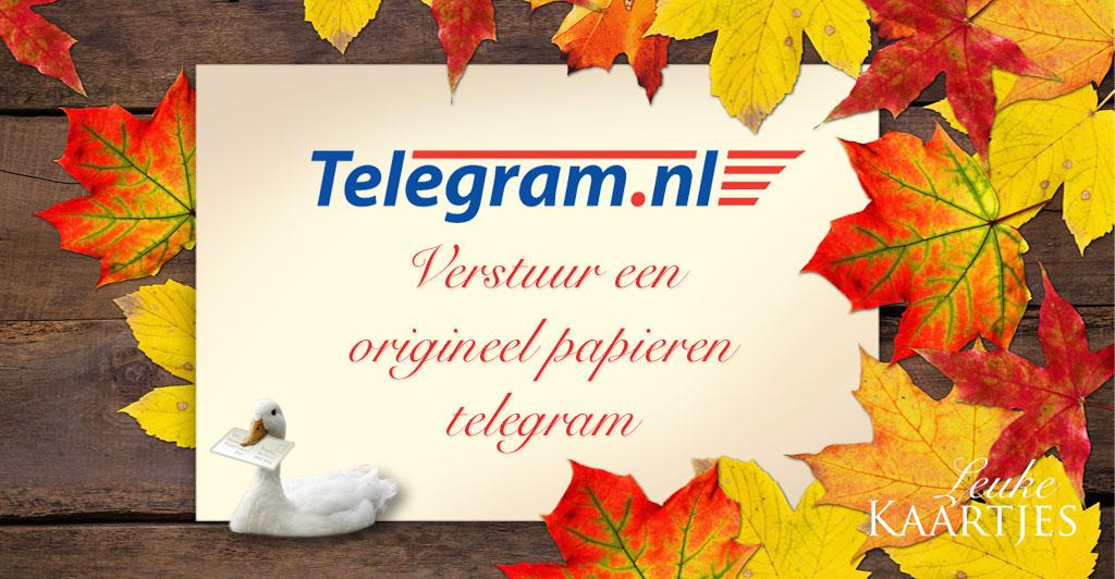 Telegram versturen